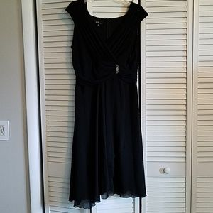 AGB Black Cocktail Dress Size 14